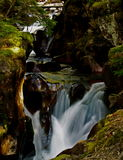 gorge лавины Стоковое Фото