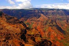 Gorge 2 de Waimea image stock