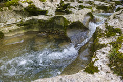 Gorge in Abkhazia Stock Photography