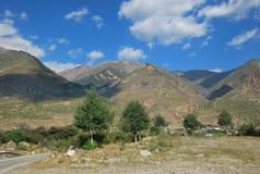 Gorge Adyr-Su elbrus Images libres de droits