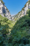 Gorge in the Alpes-Maritimes Stock Photos