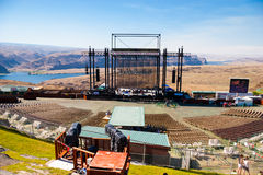 The Gorge Ampitheater at Creation NW 2006 Stock Image