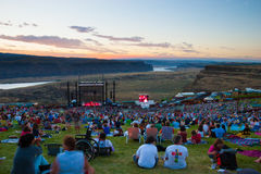 The Gorge Ampitheater at Creation NW 2006 Stock Photos