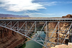 Gorge Arizona de marbre de passerelle de Navajo Photos stock