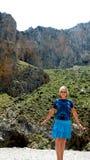 Gorge Asomatos  Kourtaliotis Royalty Free Stock Image