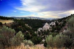 Gorge Blackfoot de fleuve Images stock