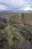 Gorge Bridge. Rio Grande Gorge Bridge , taos, New Mexico Stock Images