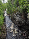 Gorge At Cascade River. This is a gorge at Cascade River State Park in Minnesota Stock Images