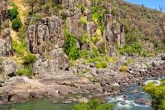 Gorge cliffs - Launceston Royalty Free Stock Photo