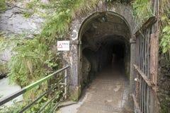 Gorge d'Aare - Aareschlucht Image stock