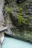 Gorge d'Aare en Suisse Photographie stock libre de droits
