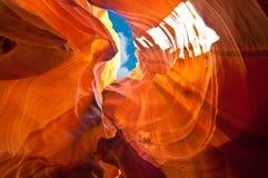Gorge d'antilope Photo libre de droits
