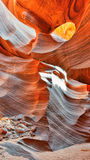 Gorge d'antilope, Arizona Images libres de droits