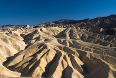 Gorge d'or de Magestic dans Death Valley Images libres de droits