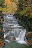 Gorge d'Enfield, Ithaca, NY Images libres de droits