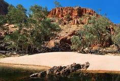 Gorge d'Ormiston, territoire du nord, Australie photo libre de droits