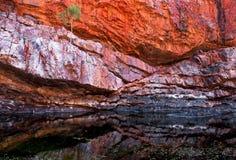 Gorge d'Ormiston, territoire du nord, Australie images libres de droits