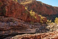 Gorge d'Ormiston, territoire du nord, Australie images stock