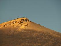 Gorge dans la lumière et l'ombre de coucher du soleil Photos libres de droits