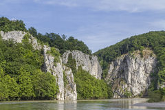 Gorge Danube Stock Photography