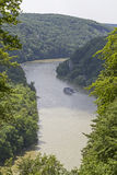 Gorge Danube Royalty Free Stock Images