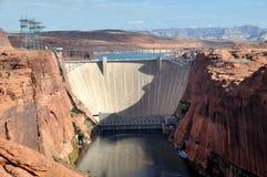 gorge de barrage de gorge Image libre de droits