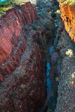 Gorge de Beano, parc national de Karijini Photographie stock