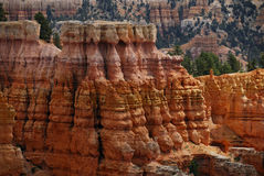 gorge de bryce Image stock
