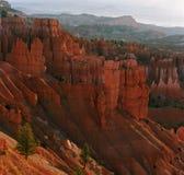 Gorge de Bryce au lever de soleil Image libre de droits
