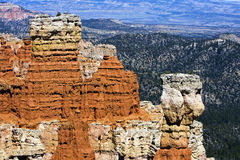Gorge de Bryce, nationale. Stationnement, Utah Photographie stock