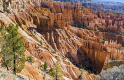 Gorge de Bryce, nationale. Stationnement, Utah Photos stock