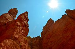 Gorge de Bryce, Utah Image stock