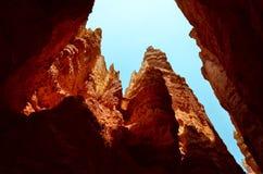 Gorge de Bryce, Utah Images libres de droits