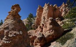 Gorge de Bryce, Utah, Etats-Unis Images libres de droits