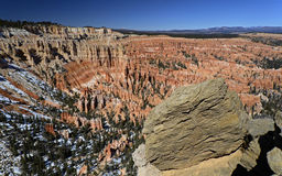Gorge de Bryce, Utah, Etats-Unis Photo libre de droits