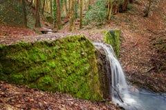 Gorge de cascade de ¡ de Haluzickà Image libre de droits