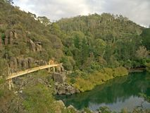Gorge de cataracte, Launceston, Tasmanie Image libre de droits