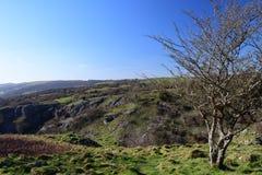 Gorge de cheddar ? Somerset images stock