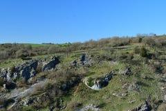 Gorge de cheddar ? Somerset photos stock
