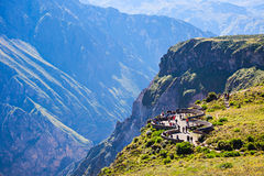 Gorge de Colca Photo stock