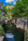 Gorge de Corcoaia, Roumanie Photographie stock libre de droits