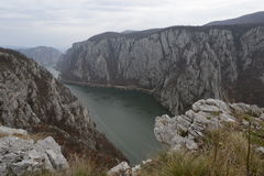 Gorge de Danube Photo libre de droits