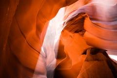 Gorge de fente en Arizona Photos libres de droits