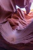 Gorge de fente en Arizona Photographie stock libre de droits