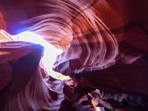 Gorge de fente en Arizona Images libres de droits