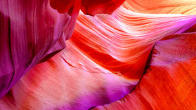 Gorge de fente en Arizona Images stock