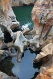 Gorge de fleuve de Blyde photos libres de droits