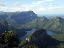 Gorge de fleuve de Blyde Images stock