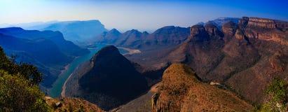 Gorge de fleuve de Blyde Photo stock