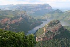 Gorge de fleuve de Blyde, Afrique du Sud Photo libre de droits